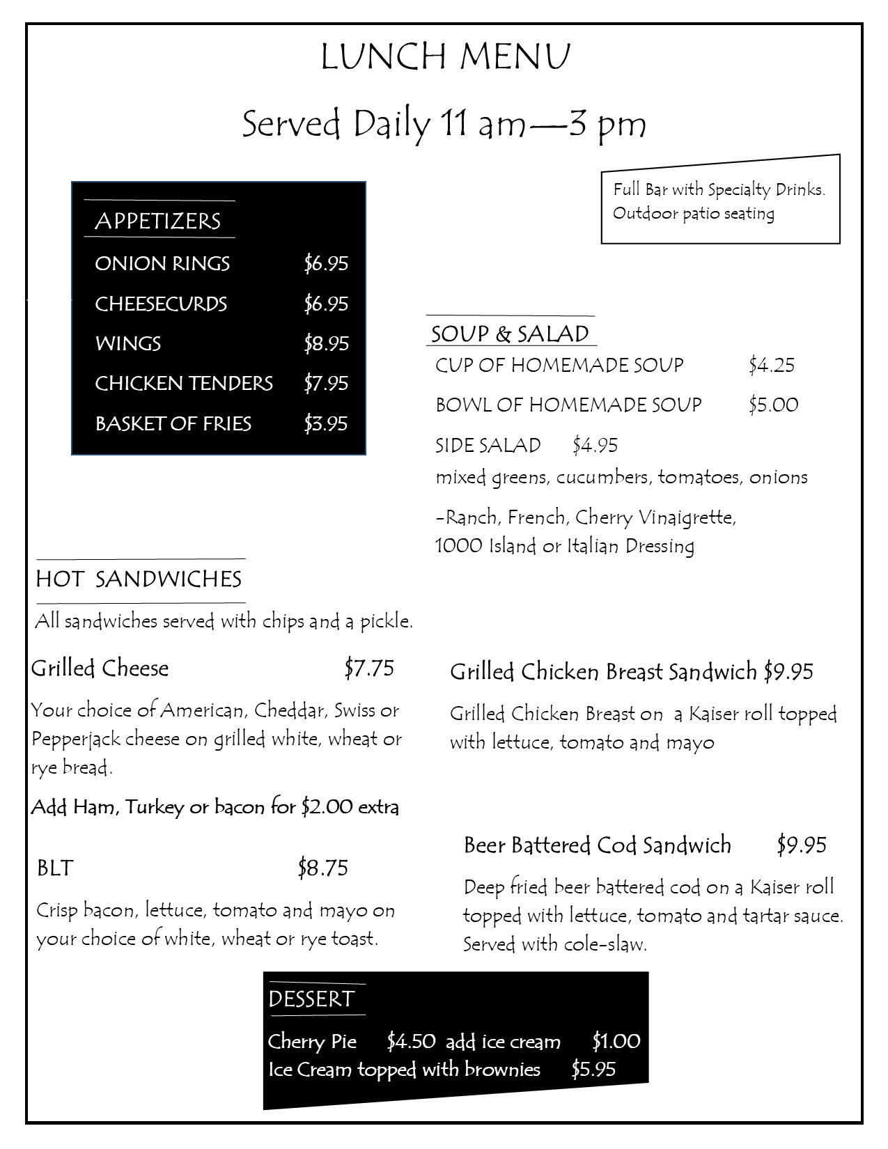 2021 lunch menu page1